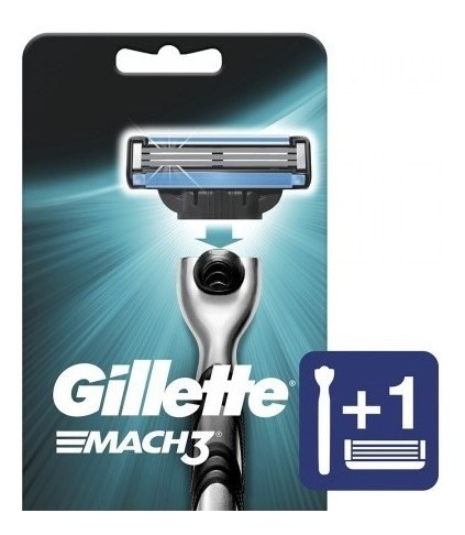 Máquina De Afeitar Gillette Mach3 Recargable