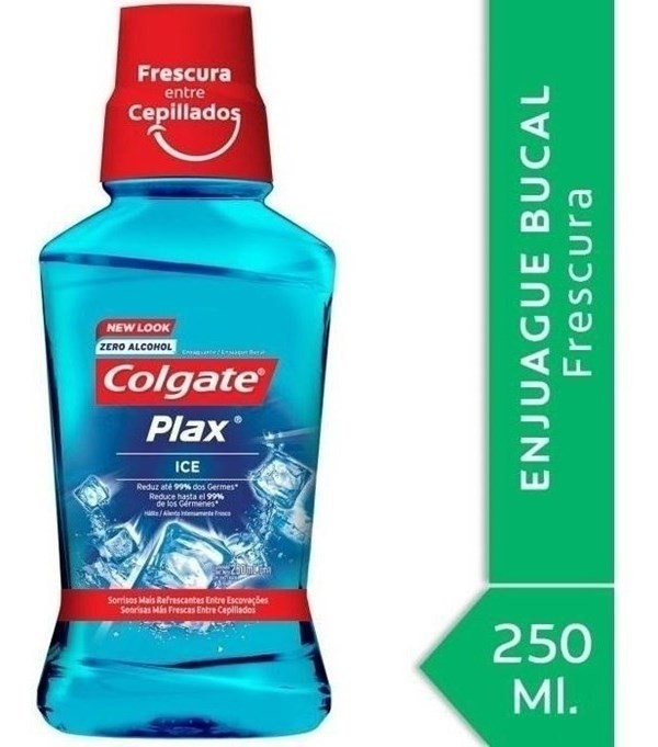 Enjuague Bucal Colgate Plax Ice 250ml #1