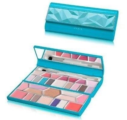Pupa Make Up Kit Original  Modelo Crystal Palette Celeste