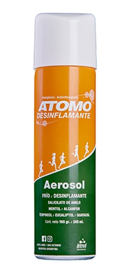 Atomo Desinflamante Aerosol Frio 245ml