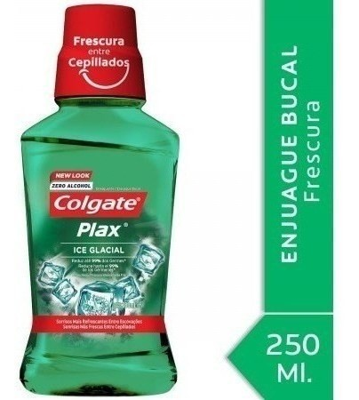 Enjuague Bucal Colgate Plax Ice Glacial 250ml