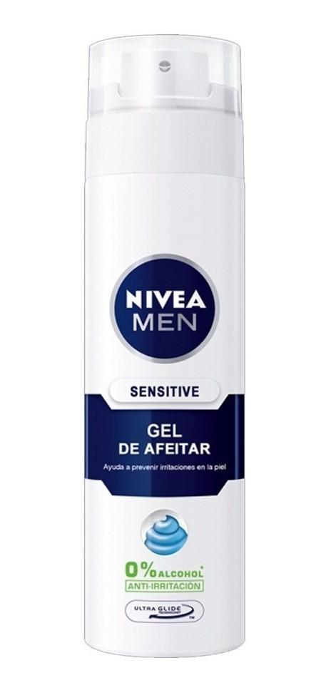 Nivea Gel De Afeitar Sensitive 200ml