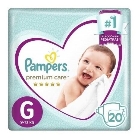 Pampers Pañales Premium Care G X 20 Un