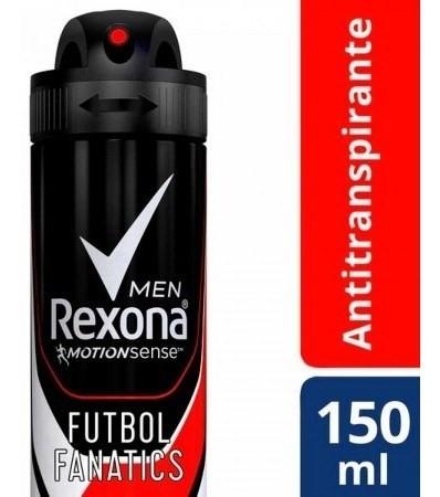 Desodorante Rexona Antitranpirante Futbol Fanatics 150ml