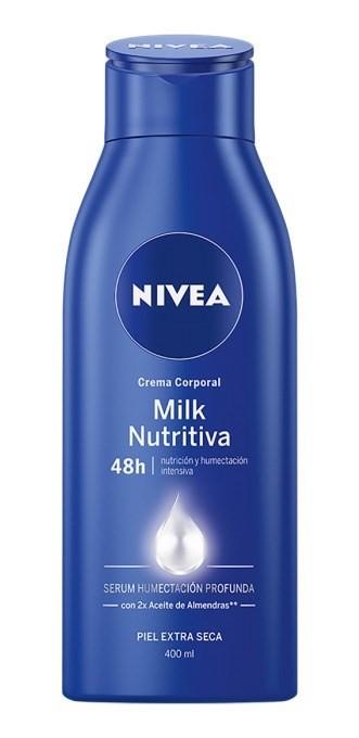 Nivea Crema Corporal Soft Milk Piel Extra Seca X 400 Ml