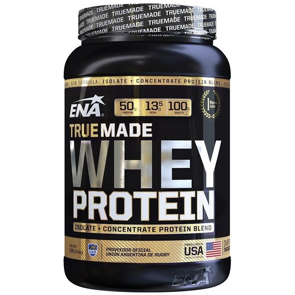 True Made Whey Protein Double Rich Chocolate X 930 Grs