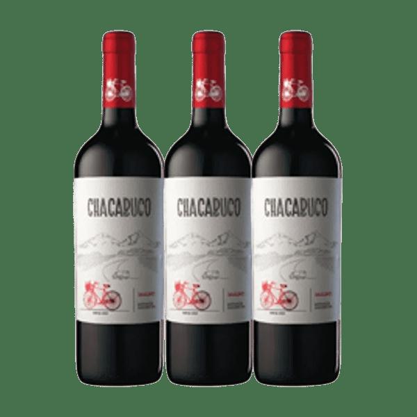 COMBO CHACABUCO VARIETALES - 3 x 750cc
