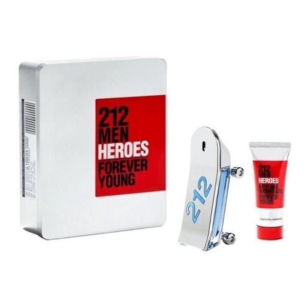 Carolina Herrera 212 Estuche Heroes EDT x90ml +Shower Gel 100ml