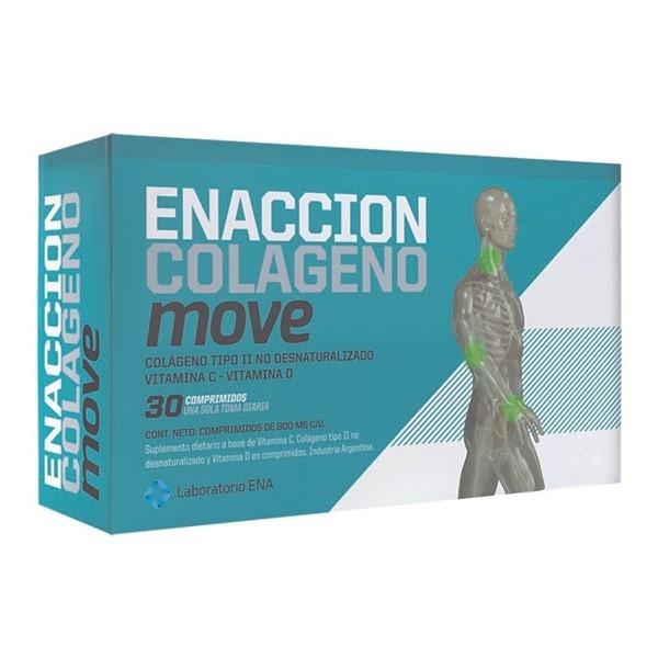 Enacción Colágeno Move X 30 Comprimidos