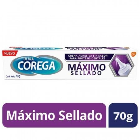 Ultra Corega - Crema Ahesiva sin sabor - 70 gr