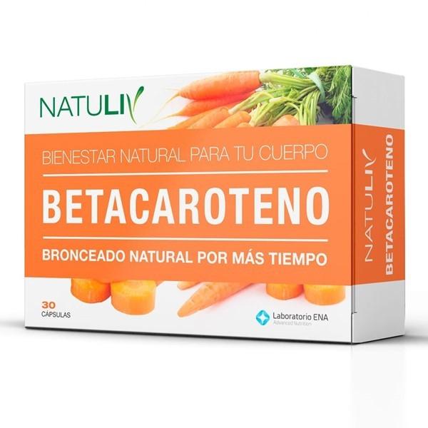Betacaroteno X 30 Cápsulas
