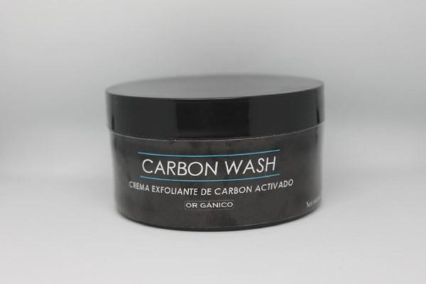 Crema Exfoliante De Carbon Activado Carbon Wash  x 100 gr