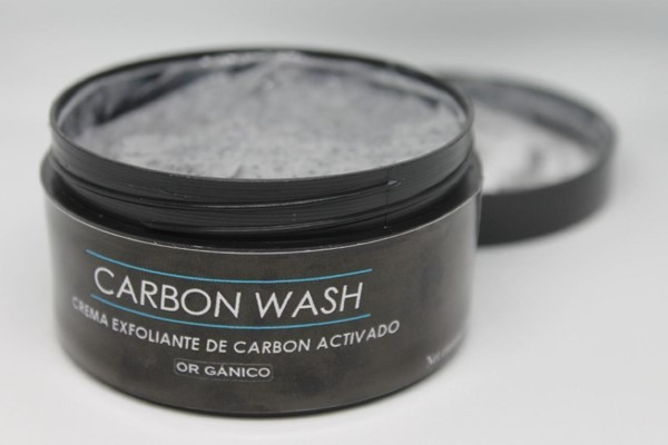 Crema Exfoliante De Carbon Activado Carbon Wash  x 100 gr alt