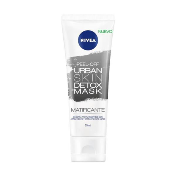 Máscara Facial Nivea Urban Skin Detox Matificante 75 ml