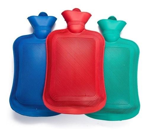 Combo 2X Bolsa Para Agua Caliente Con Tapón Clásica Varios Colores X 2 Litros alt