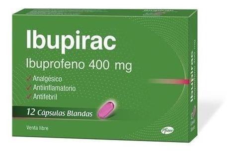 Ibupirac Capsulas Blandas 400 X12