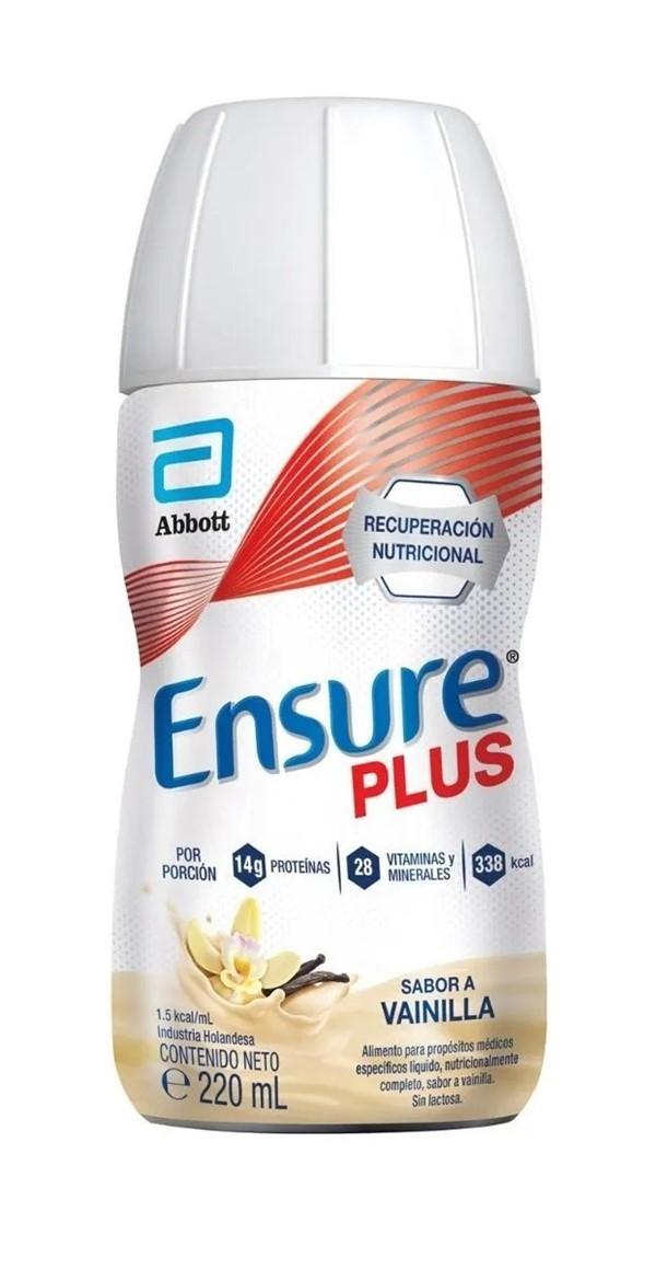 Ensure Suplemento Nutricional Plus Vainilla x220ml
