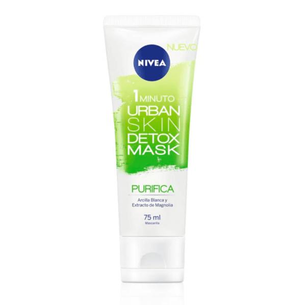 Máscara Facial Nivea Urban Skin Detox Purificante 75 ml
