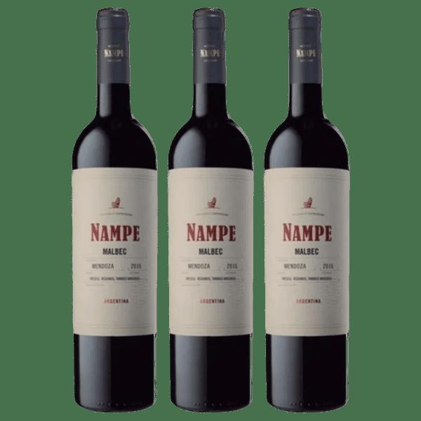 COMBO NAMPE VARIETALES - 3 x 750cc