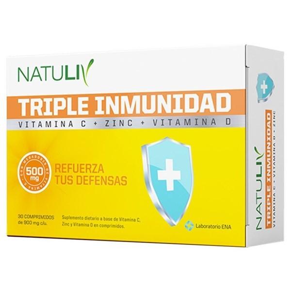 Triple Inmunidad X 30 Comprimidos