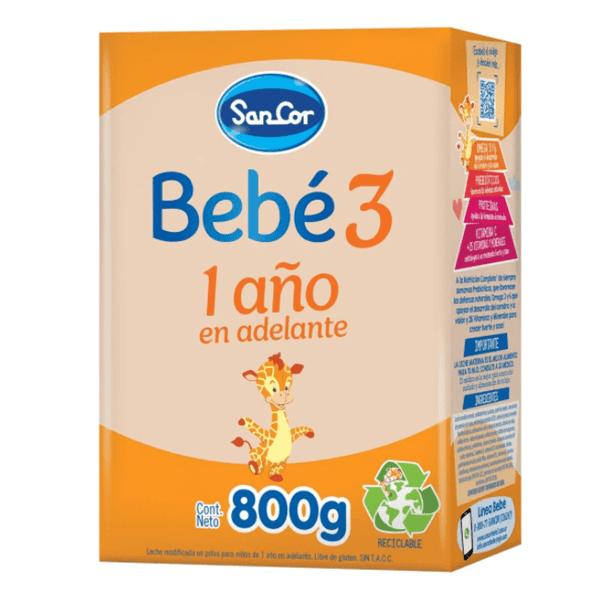 Sancor Bebe 3 Polvo 800 gr