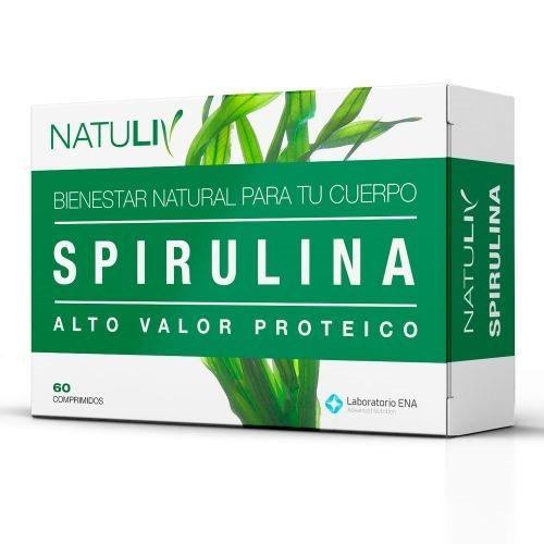 Spirulina X 60 Comprimidos