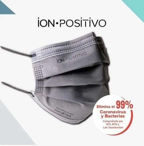 Barbijo ION-POSITIVO X 3 Unidades