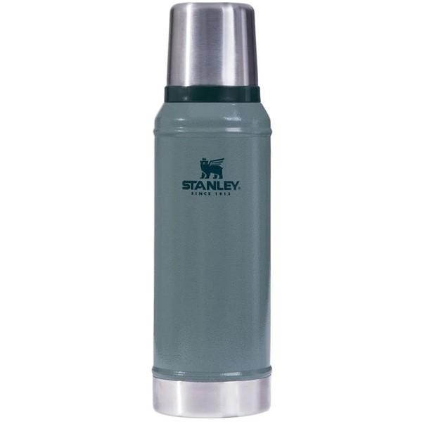 Termo Stanley Clásico Verde 946 Ml Con Tapón Cebador