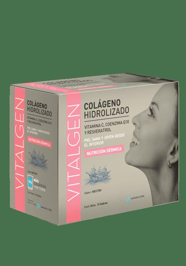 Vitalgen Colágeno Hidrolizado Neutro Caja X 15 Sobres