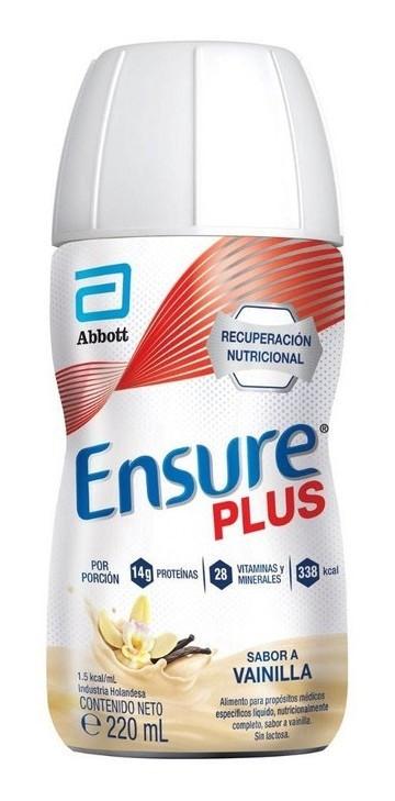 Suplemento Nutricional Ensure Plus Vainilla X220ml