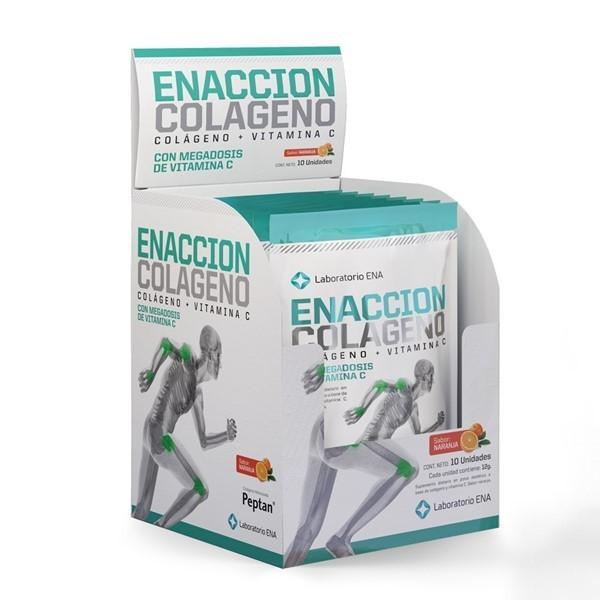 Enacción Colágeno Caja X 10 Sobres